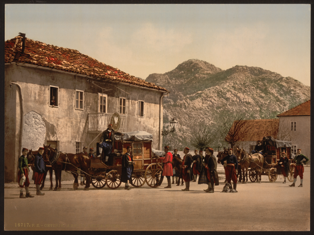 Arrival_of_the_Post_Cetinje_Montenegro_WDL2610.png